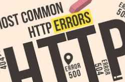 HTTP Error 403, 404, 500, 503, and 504