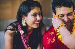 Haldi Ceremony & Couple Shoot Outfits #AnuManshiWedding
