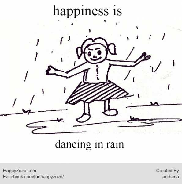 Happiness Is Seeing Your Child Dancing In The Rains - Life Through My Eyes | Little Duniya