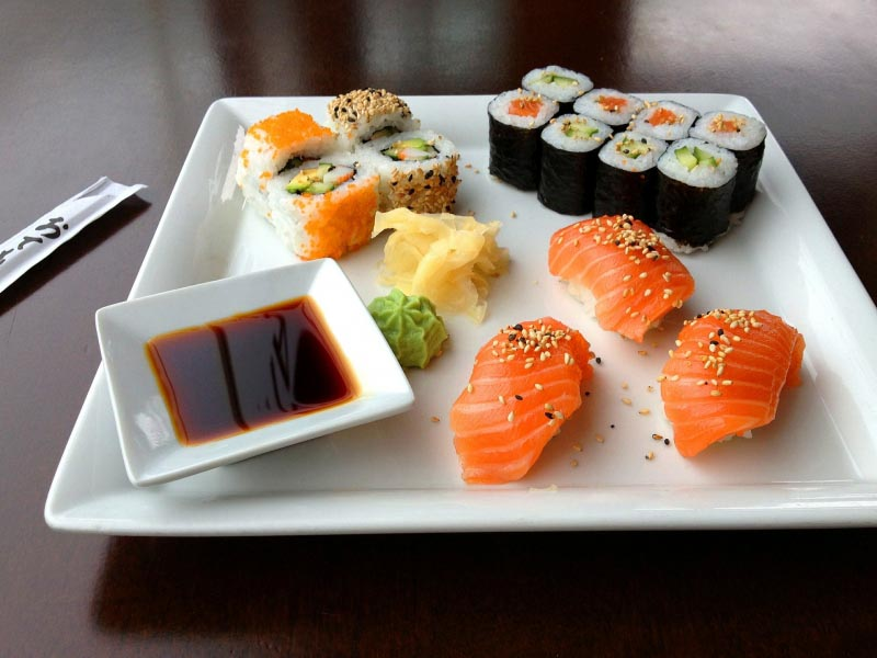 Have A Quick Analysis Of Different Type Of Sushi Before Grabbing It