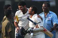Hero rises from horrors of Mumbai to fashion fated Test victory for India