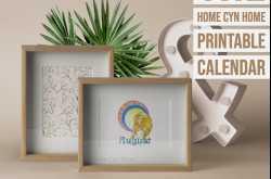 home cyn home: august 2019 printable calendar
