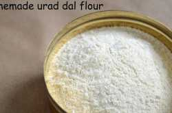 Homemade urad dal powder