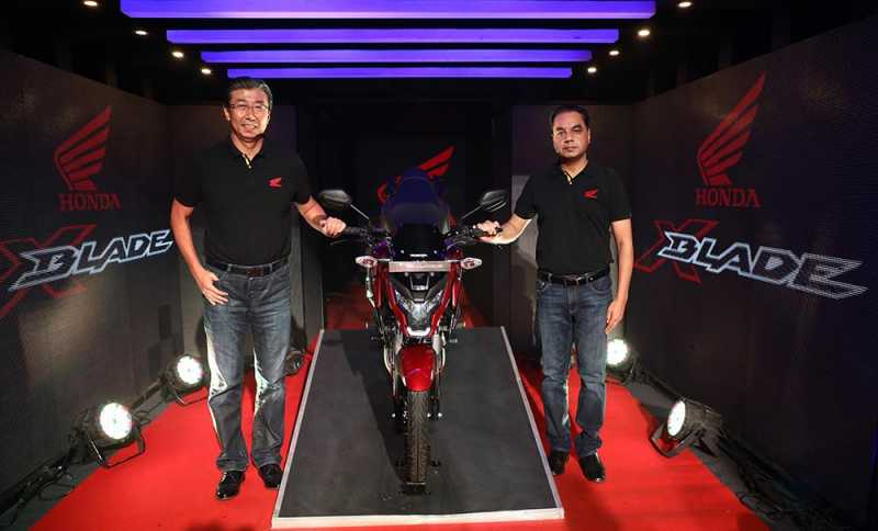 Honda X-Blade ABS Launched In India At Rs. 87,776