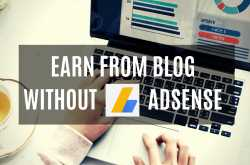how to earn from a blog without google adsense | garimashares