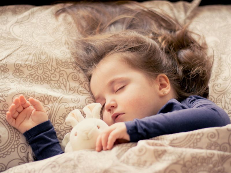 How To Help Your Child Fall Asleep Easily- ClickandFab