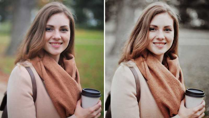 How To Make The Background Black & White In Snapseed | GarimaShares