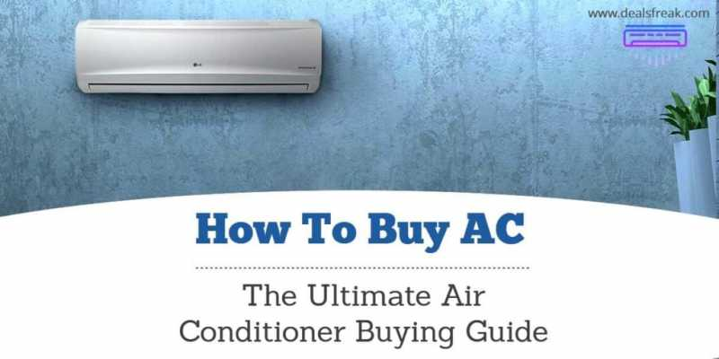 How To Buy The Perfect AC, Air Conditioner Buying Guide 2018