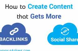 how to create content that gets more shares and backlinks too?