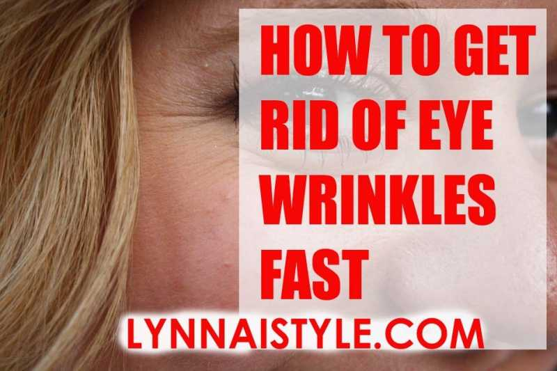How To Get Rid Of Eyes Wrinkles Fast? - Remedies And Treatment