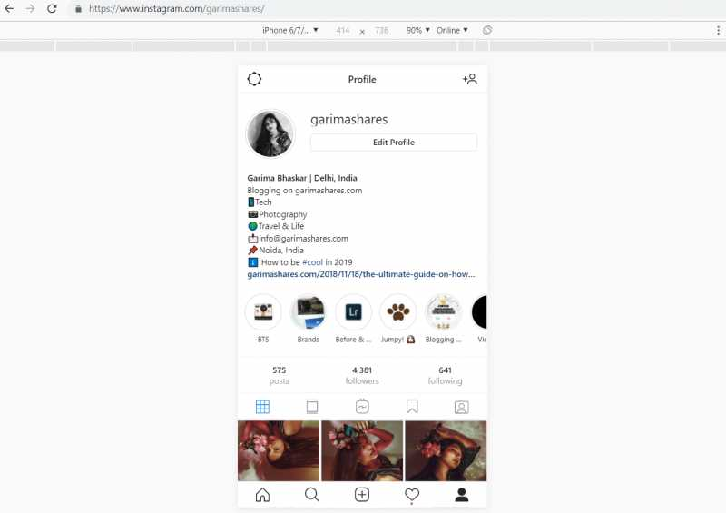 How To Upload On Instagram From Your PC | GarimaShares