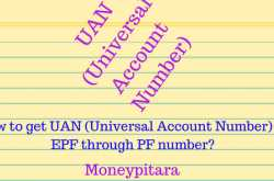 how to get your uan number of epf through pf number?