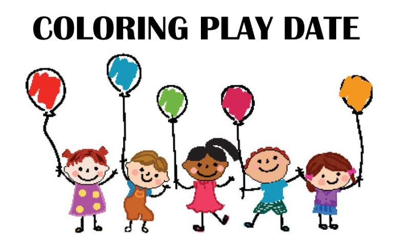 How To Prepare A Proper Coloring Play Date?