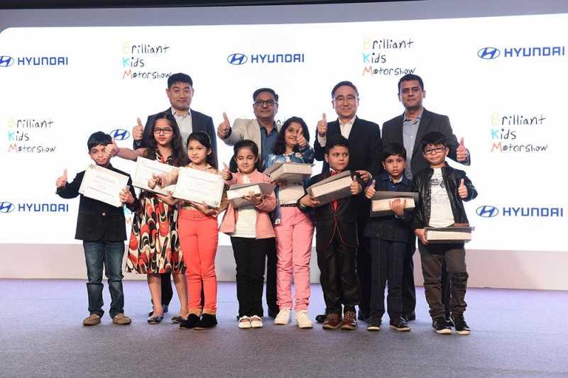 Hyundai India Unveils Brilliant Kids Motor Show 2018