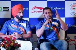 I support Salman Khan as the brand ambassador of India for upcoming Olympics game