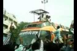 IYC LS VP Surendra Honey Baghel Protesting Against BJP