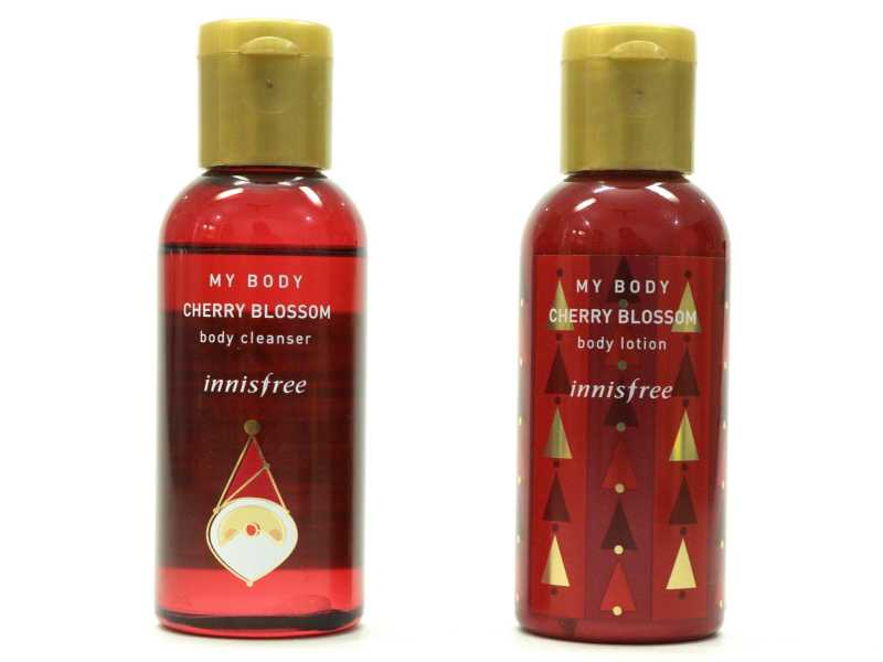Innisfree Cherry Blossom Body Cleanser & Body Lotion Review