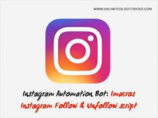 Sudheer Kokkula Blogs Instagram Bot: IMacros Instagram Auto