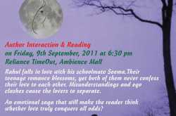Invitation to the NCR launch of Truly Madly Deeply