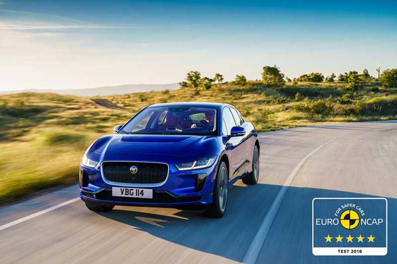 Jaguar Electric I-PACE Gets 5 Star Euro NCAP Safety Rating