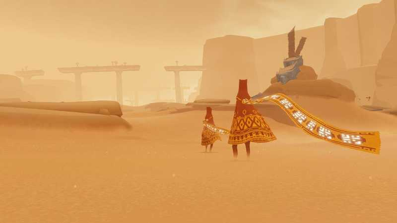 Journey Is Coming To PC Via The Epic Games Store!