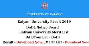 Examsleague Blogs Kalyani University Result 2019 BA BSc BCom