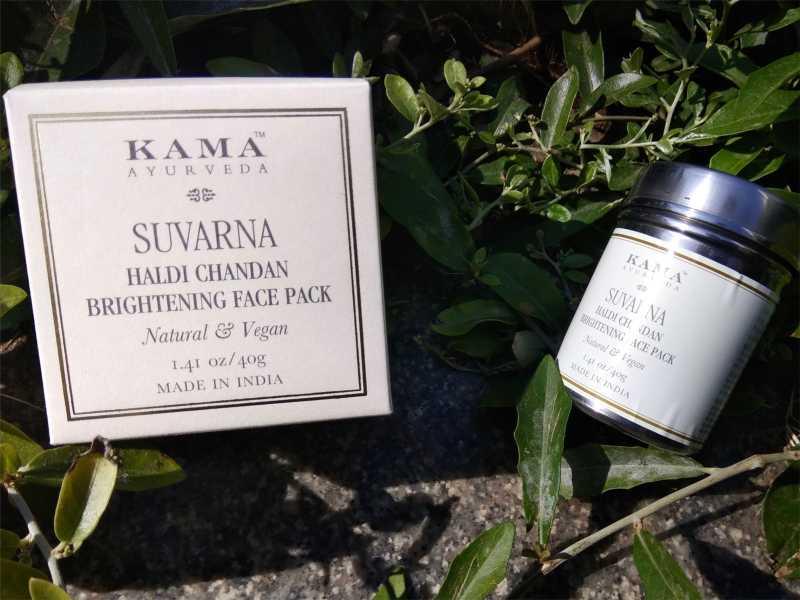 Kama Ayurveda Suvarna Haldi Chandan Brightening Face Pack Review