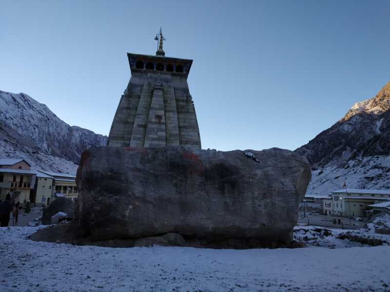 Kedarnath Pics Taken In Oct-18