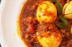 Kerala Style Egg Roast | Kerala Egg Curry