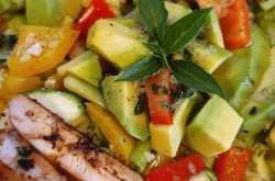 kickass chicken salad #sikandalouscuisine
