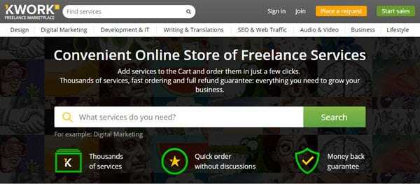Kwork Freelance Marketplace For Buyers & Sellers - EarningGuys