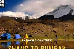 Ladakh   Shang to Rumbak Trek Aug 31 - Sept 7 2019
