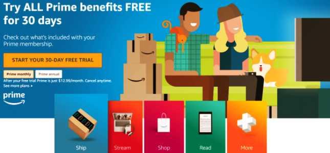 Latest Trick To Get Free 30 Days Amazon Prime Membership