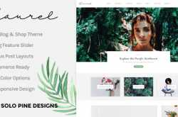laurel wordpress theme free download