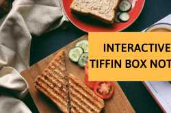 Learn to make an interactive tiffin box with these mommy notes -