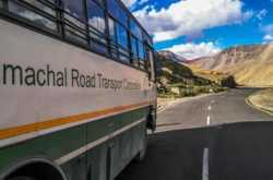 leh bus service from delhi, manali and keylong 2019