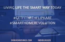 living life the smart way today #getfitwithflipkart #smarthomerevolution