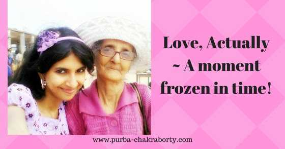 Love Actually~ A Moment Frozen In Time