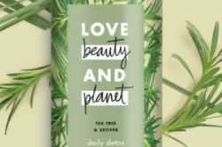 Love Beauty & Planet Tea Tree & Vetiver Body Wash For Back Acne