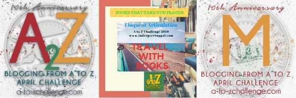 M Is MEXICO #TravelWithBooks #AtoZchallenge @AprilA2Z