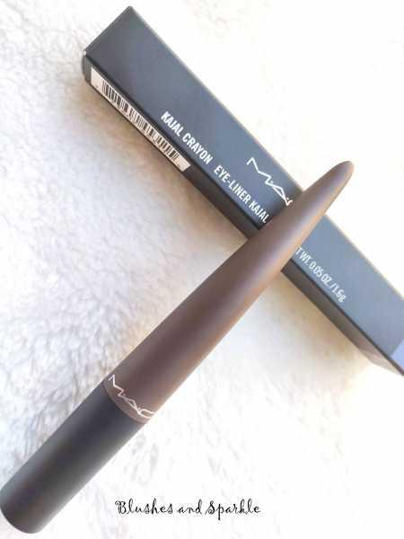 MAC Cosmetics Kajal Crayon In Marsala - Review, Swatches, FOTD