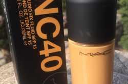 mac studio fix fluid foundation nc 40