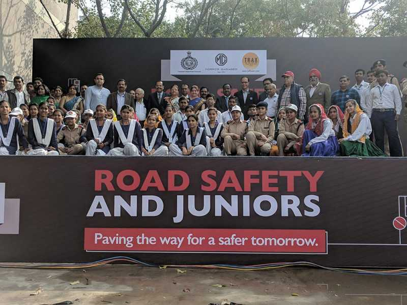 MG Motor India Partners With Haryana Govt For Road Safety Programme