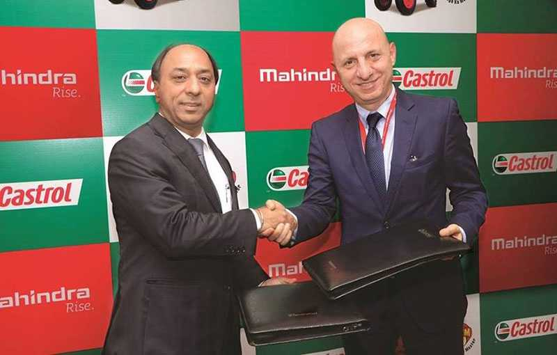 Mahindra To Endorse Tractor Fluids From Castrol