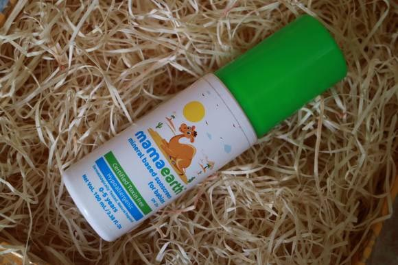 Mama Earth Sunscreen For Babies SPF 20+Review