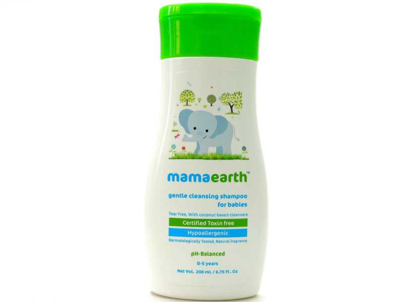 Mamaearth Gentle Cleansing Shampoo For Babies Review