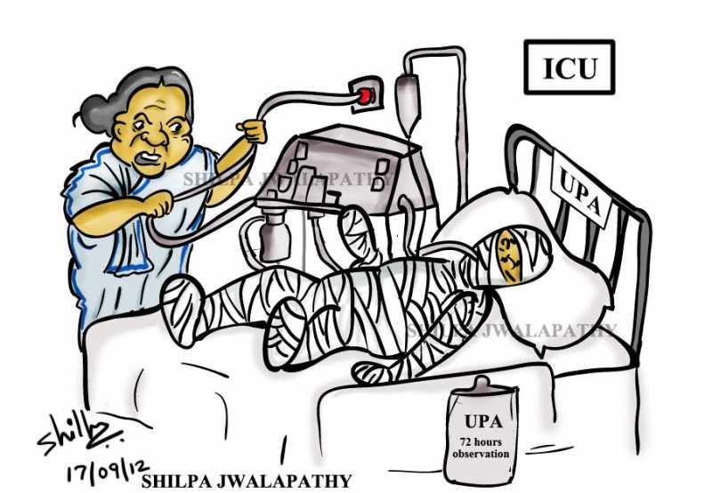 Mamata Threatens To Pull The Plug.