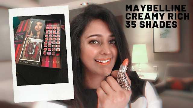Maybelline Creamy Matte 35 Rich Lipstick Review #MaybellineCreamyMatte