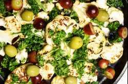 Mediterranean Roasted Cauliflower   A Warm Salad - The India Edition
