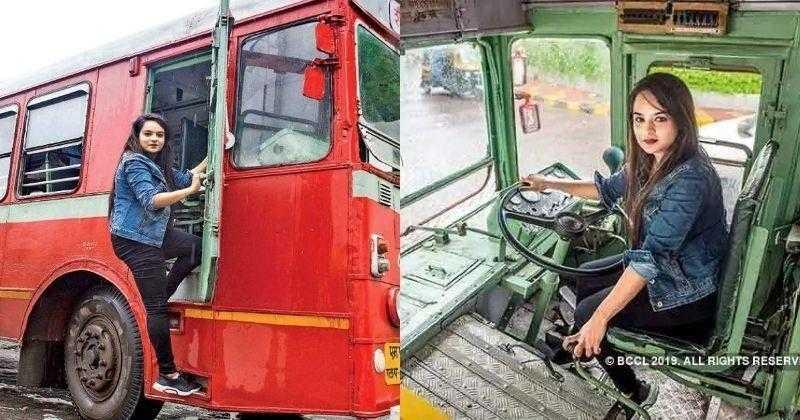 Meet Pratiksha Das Mumbai's First Female Bus Driver